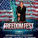 Freedom Fest – July 4th – Dansbury Park Stroudsburg, PA