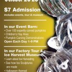 """A Night at the Ice Museum"" Family Fun Event to be held Oct 26-28"