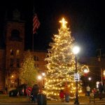 Annual Tree Lighting Celebration in Downtown Stroudsburg on November 29th, 2013