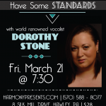 Theatrical Reading and A Night of Standards in March with Harmony Presents