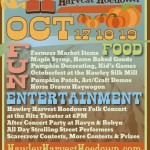 Fall Into The Hawley Harvest Hoedown October 17th through 19th