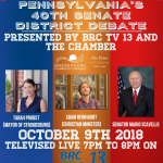Senate Debate Televised Live – October 9th
